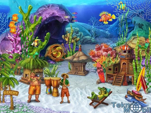 Fun Aquarium v1.0.1 3 Boyutlu Ekran Koruyucu Full