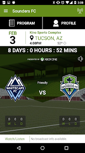 Sounders FC- screenshot thumbnail