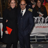 OIC - ENTSIMAGES.COM - Felicity Blunt and Stanley Tucci at the  Spotlight - UK film premiere in London 20th January 2015 Photo Mobis Photos/OIC 0203 174 1069