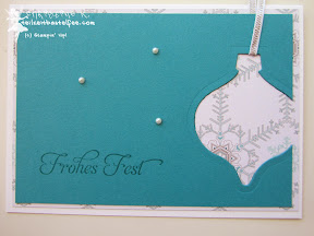 stampin up christmas holiday ornaments wunderbare weihnachtsgrüße more merry messages