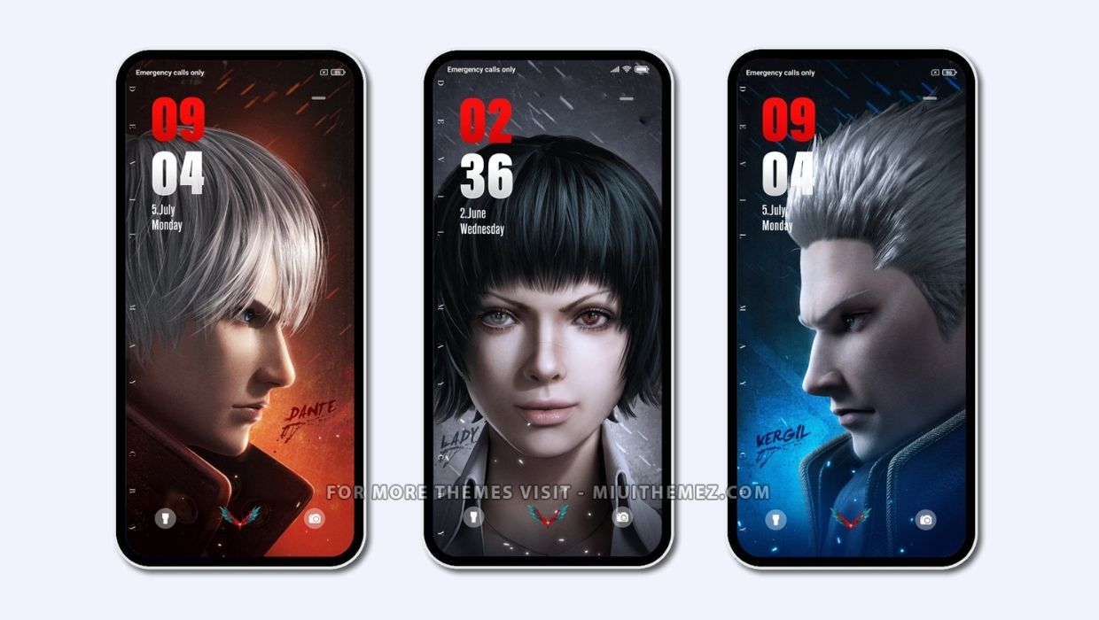 Devil May Cry MIUI Theme