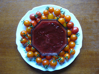 french village diaries recipes potager tomato chutney