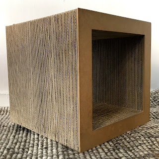 Vitra + Frank Gehry Cardboard Side Table
