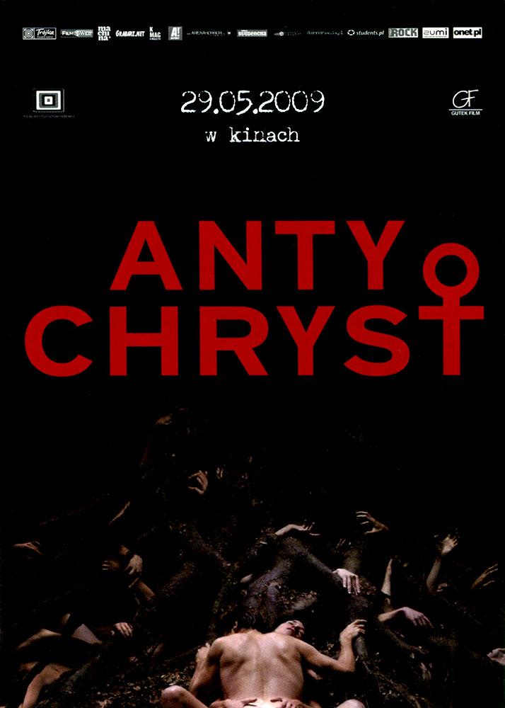 Ulotka filmu 'Antychryst (przód - wersja B)'