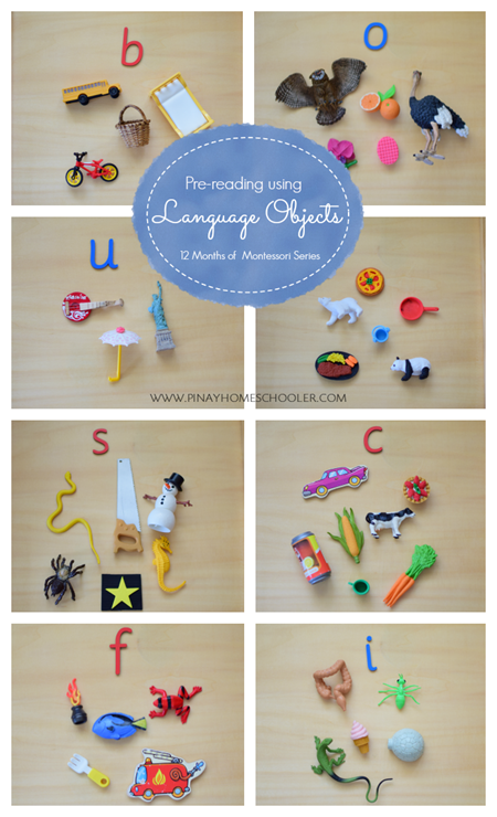 Montessori Language Objects