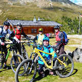 Madritschjoch biking over 3000 meters 25.09.14