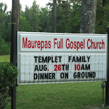 Full Gospel Church, Maurepas, LA