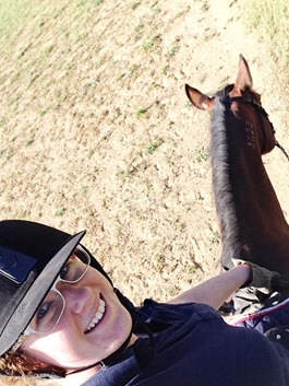Arena selfies! | A Riding Habit