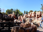 The line in Thunder Mountain moves very quickly