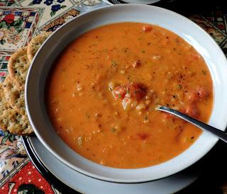 Tomato & Rice Soup (small batch)