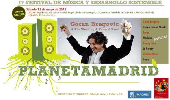 Planetamadrid. IV Edición del Festival de Música y Desarrollo Sostenible