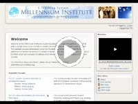 Millennium Institute E-learning System