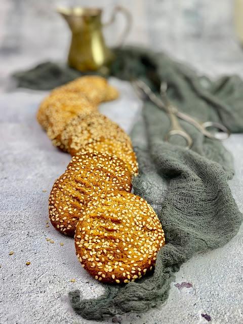 Tahini-Miso Cookies