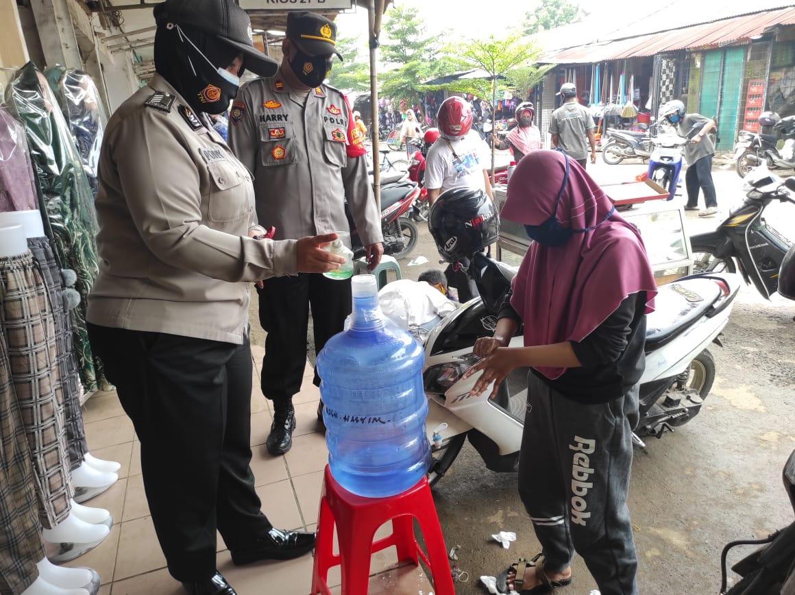 Polres Indramayu Polda Jabar Gelar Penerapan dan Penegakan Prokes