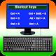 Computer Shortcut Keys : Keyboard shortcut keys Download for PC Windows 10/8/7