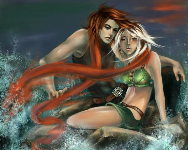 Two Lovers In The Ocean, Fairies 3