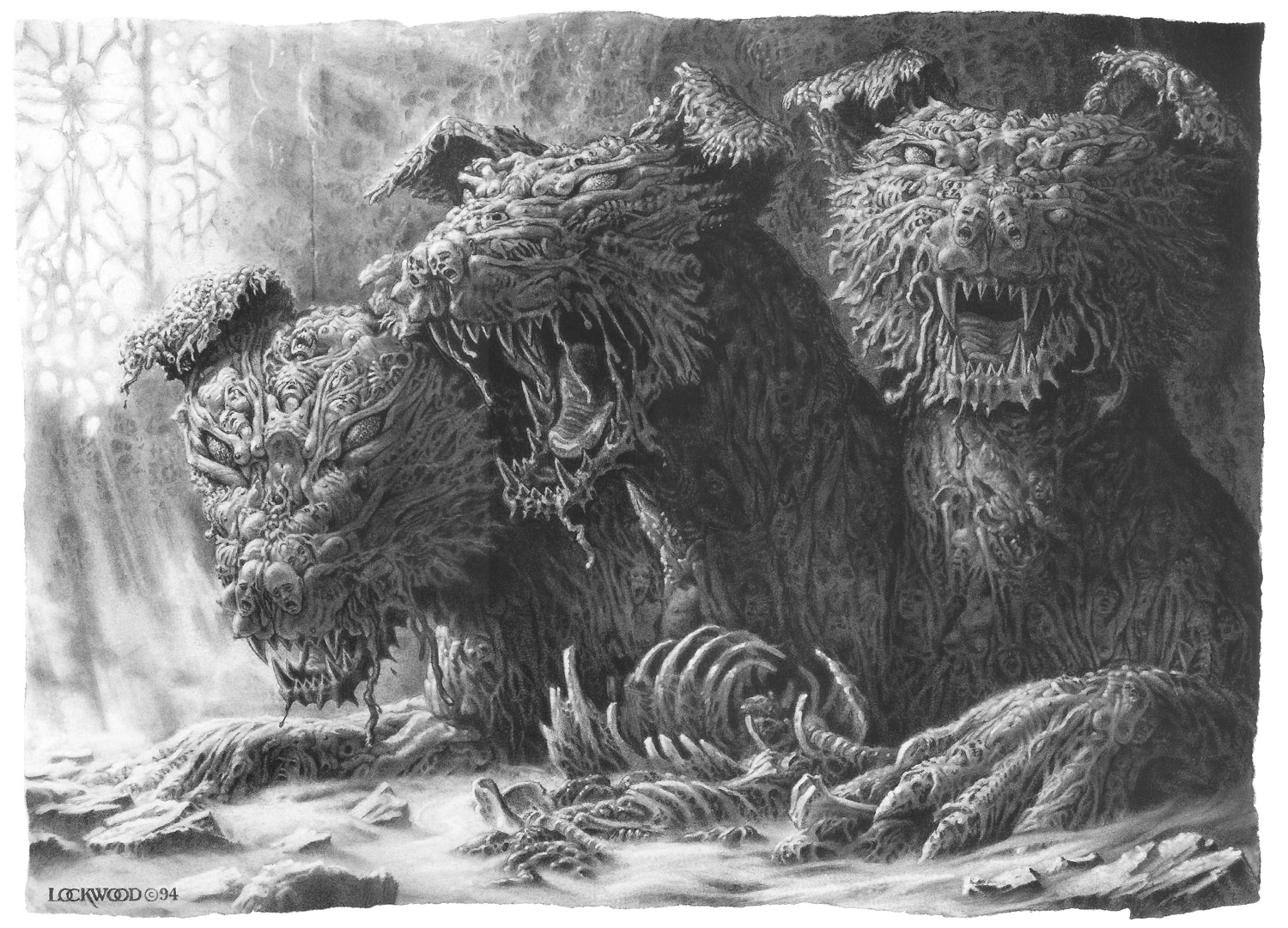 PRIMEVALS: The Monster Incyclopedia: Hellhounds/Black Demon Dogs