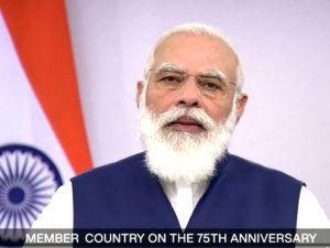 UN में जमकर बोले मोदी जी, प्रधानमंत्री ने कहा- जब भारत मजबूत था तो किसी को सताया नहीं; जब मजबूर था, तब किसी पर बोझ नहीं बना, कोरोना को लेकर दिया बड़ा संदेश