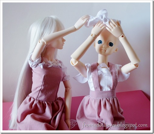 Doll Owner's Corner: Behind the Scenes Round 3: Underwear Does Not Go On Your Head!