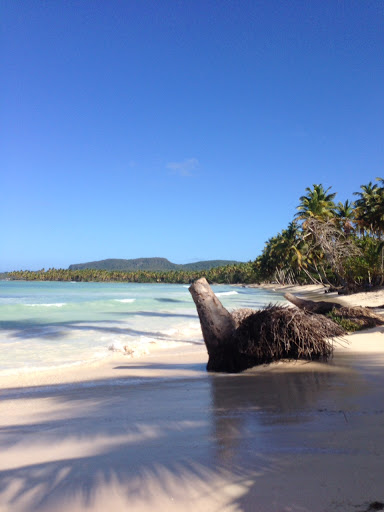 What a beach! From Visiting the small fishing village of Las Galeras, Dominican Republic