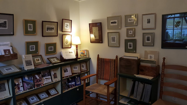 Inside the home and studio of wood engraver Gerard Brender à Brandis, Stratford, Ontario
