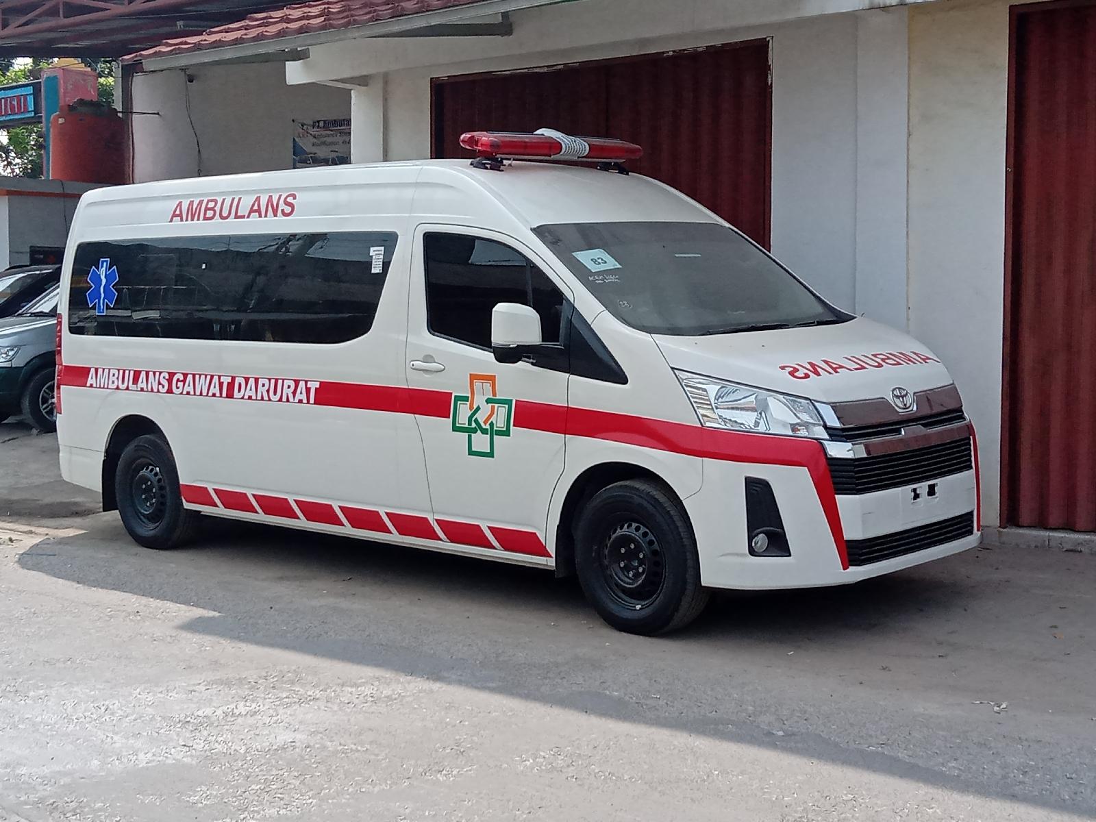 showroom karoseri ambulans