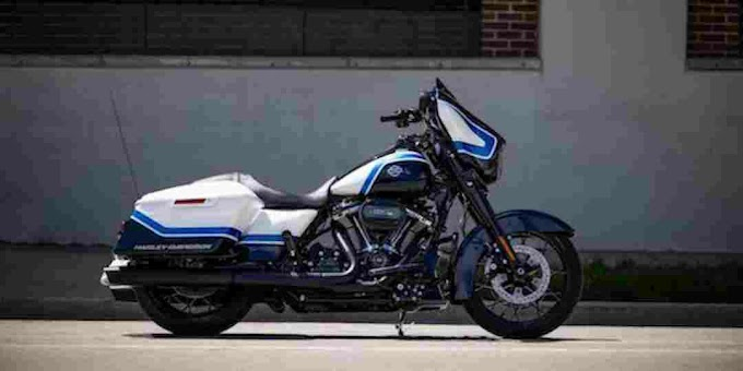 """Finally 2022  Harley-Davidson Street Glide Special """"Arctic Blast""""b model launched."""