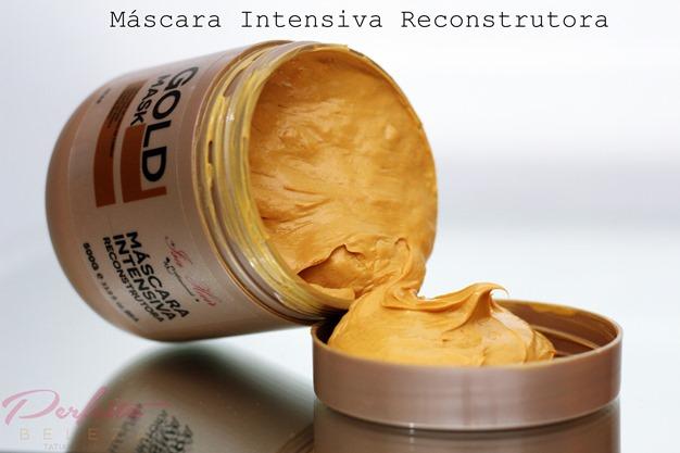 máscara reconstrutora de ouro isa hair