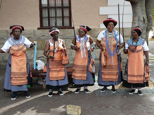 Xhosa singers