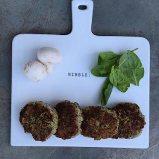 Mushroom & Spinach Chicken Patties