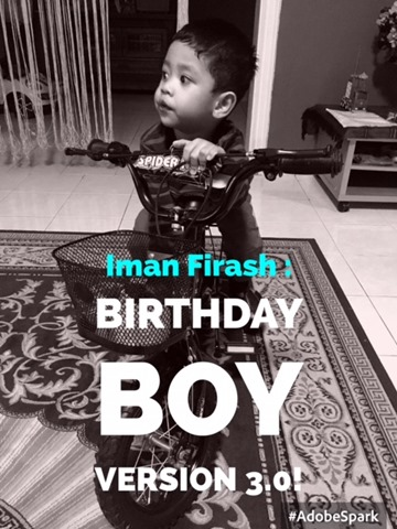IMAN FIRASH BIRTHDAY BOY VERSION 3.0!