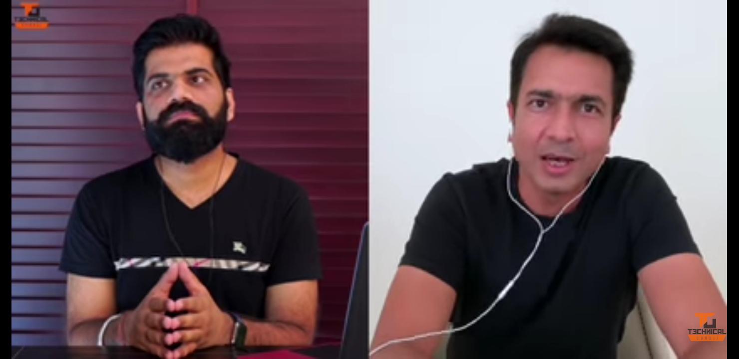 Technical Guruji and Rahul Sharma