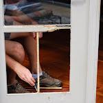 Custom Door Window Molding Replacement