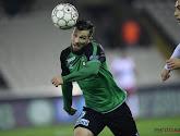 Le joueur du Cercle de Bruges Xavier Mercier a marqué contre son ancien club le KV Courtrai