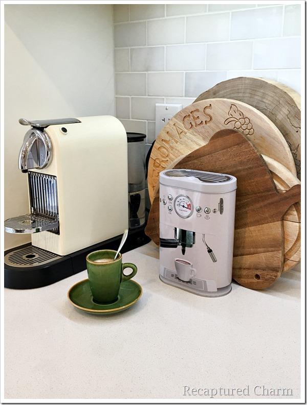 kitchen makeover coffee corner 3