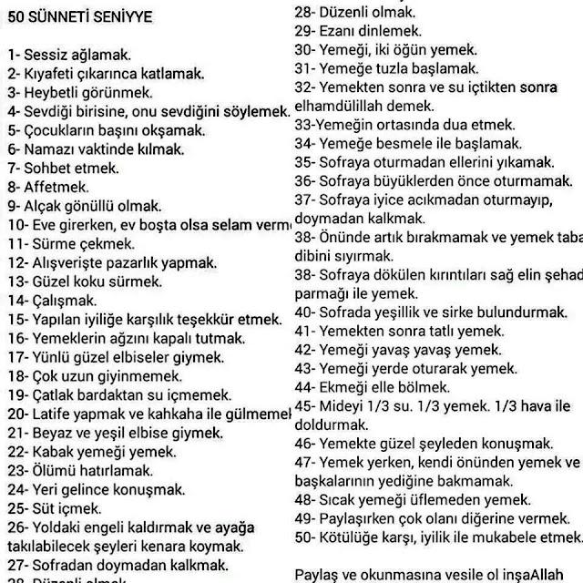 50-sunnet-i-seniye