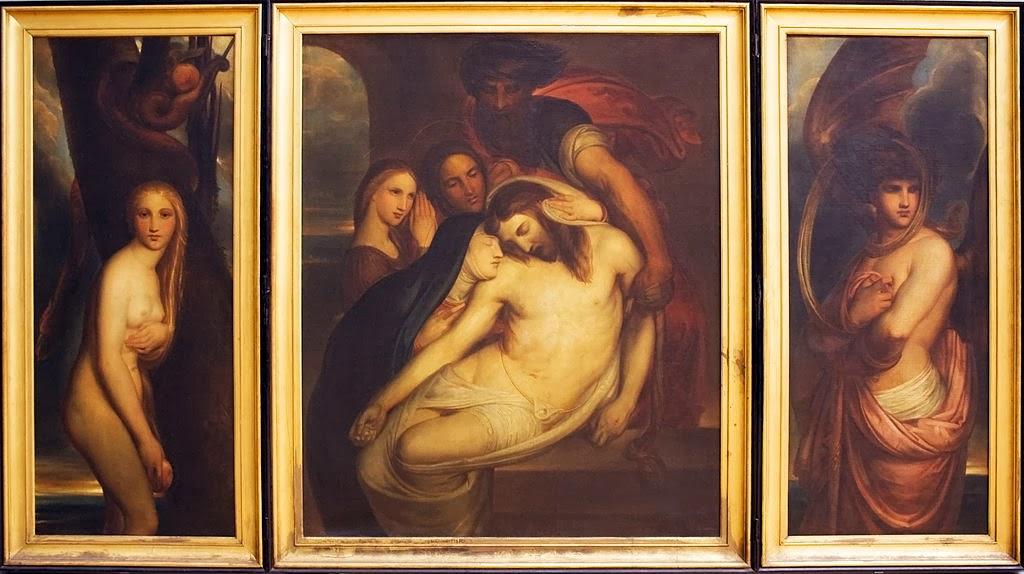 Antoine Wiertz - Triptychon