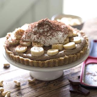 Raw Banoffee Pie.