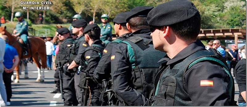 Guardia Civil en Liebana