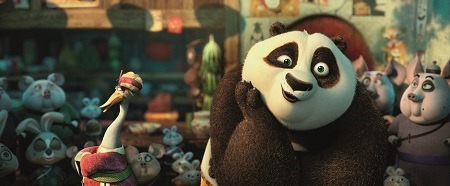 JACK BLACK REPRISES VOICE ROLE IN KUNG FU PANDA 3