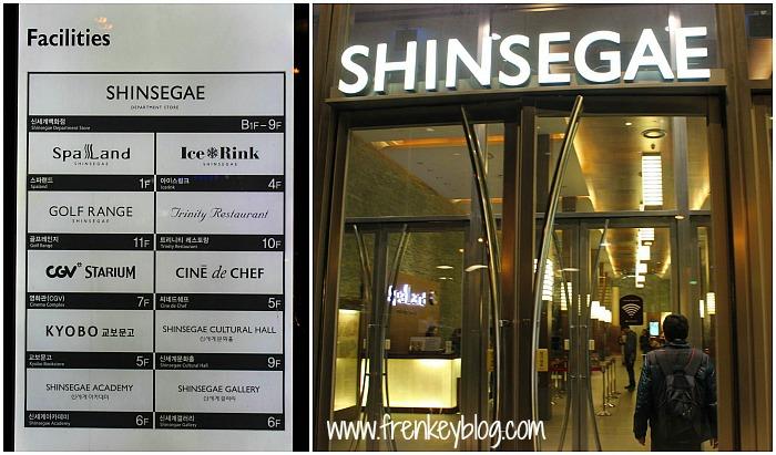 Pintu Masuk ke Shinsegae Spa Land