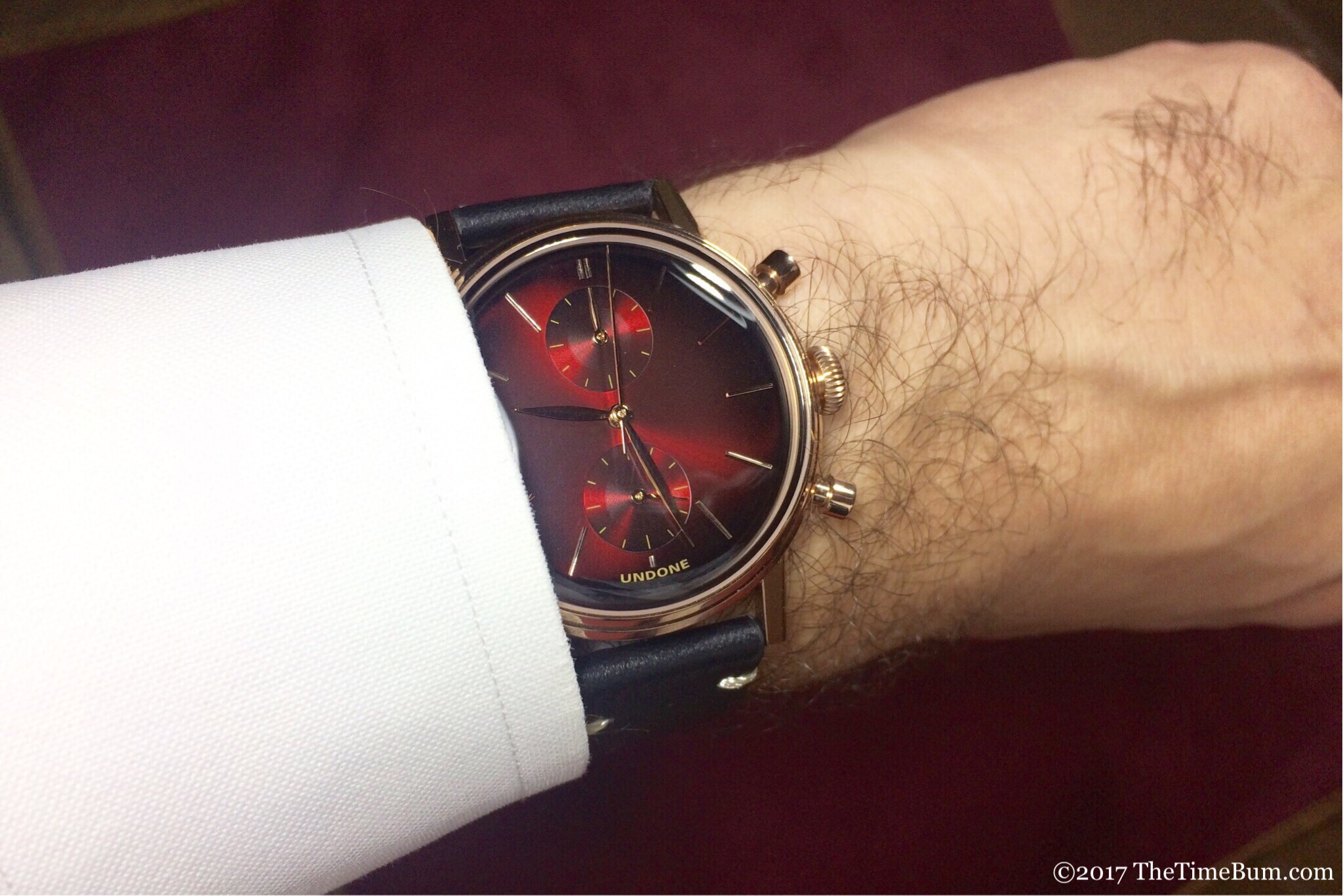 Undone Mystique Mars red wrist shot
