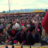 Massive religious gathering and enthronement of Dalai Lama's portrait in Lithang, Tibet. - l61.JPG