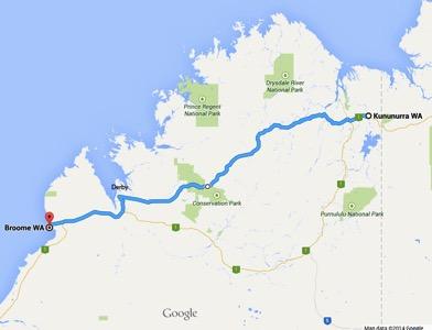 Gibb Route Google