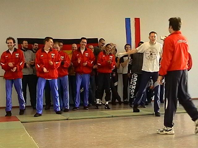 Freundschaftswett- kampf gegen das französiche Nationalteam 2003 - IMGA0149.JPG