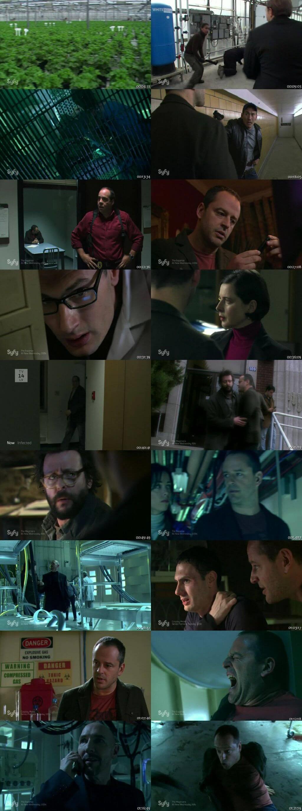 Screen Shot Of Infected 2008 In Hindi English Dual Audio Bluray