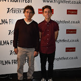 OIC - ENTSIMAGES.COM - Fabrice Ambrosioni and Nathan Ambrosioni   at the Film4 Frightfest on Monday   of  Hostile UK Film Premiere at the Vue West End in London on the 31st  August 2015. Photo Mobis Photos/OIC 0203 174 1069