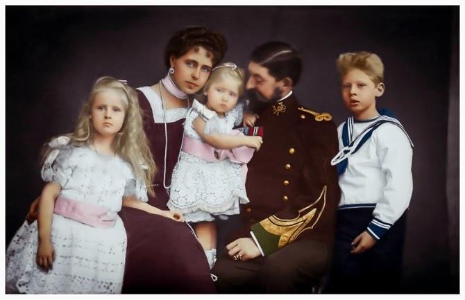 Copilărie regală