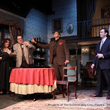 Cindy Welch, Debbie May, Richard Michael Roe, Daniel Martin and Matthew Surman in ARSENIC AND OLD LACE (R) - May 2011.  Property of The Schenectady Civic Players Theater Archive.