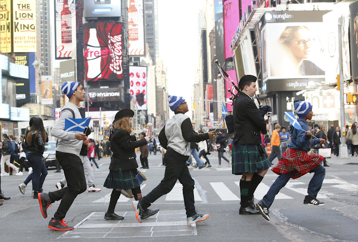 Tides of Tartan Descend Upon New York for Scotland Week – April 2-10, 2016
